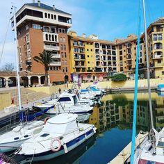 A kind of parking... #boats #sea #PortSaplaya #Valencia #Spain #españa