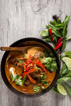 Thai Red Curry by @t