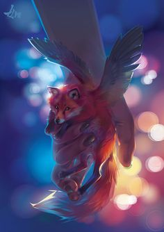 Fantasy Animal Art Drawings Anime Characters 17 Ideas For 2019 Cute Fantasy Creatures, Mythical Creatures Art, Mythological Creatures, Fox Fantasy, Fantasy Art, Cute Animal Drawings, Cute Drawings, Wolf Drawings, Anime Animals