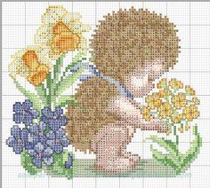creaciones FOG: col bebés disfrazados punto de cruz: patrón bebé e...