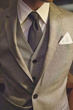 Makes me want a nice gray suit