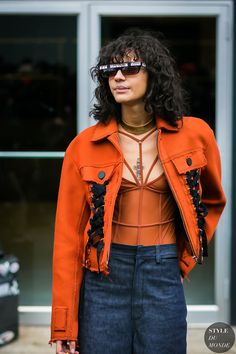 Fernanda Oliveira by STYLEDUMONDE Street Style Fashion Photography