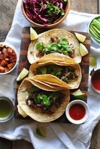 taco recipes: simple beef street tacos
