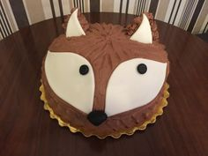 Fox cake by Kavarium