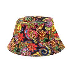 929724a06e8 2016 summer outdoor women fashion bucket hat for lady sun cap print casual  sports fisherman caps spring flower hats