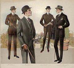 Tailor's catalogue gentlemen's fashion, 1915- 1916