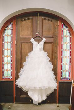 Charleston Weddings - Cooper River Room - Richard Bell Photography - Orange and Purple - Clemson University