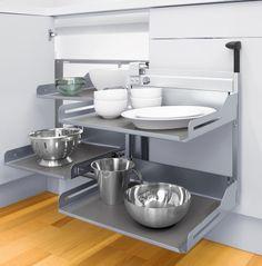 Corner Unit, Storage Spaces, Sink, Kitchen Appliances, Instagram, Design, Home Decor, Magic, Taken Advantage Of