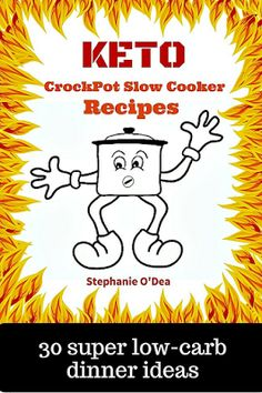 cooking in the crockpot slow cooker is one of the easiest ways to stick to your low-carb and keto eating!