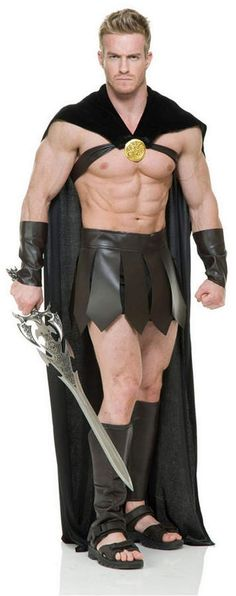 Mens Adult Male Fancy Dress EVA Muscle Chest /& Abs Panel New by Smiffys