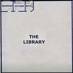 A bookworm's dream home! Hilarious book memes about readers who dream of a bigger home library.