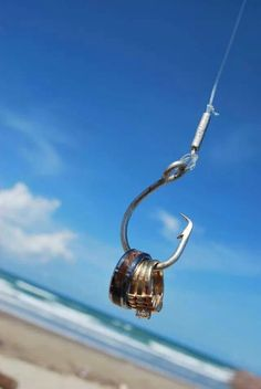 Love the rings on a fishing hook! Show your style in your photos. #hooked