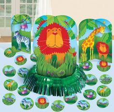 Jungle Animals Table Decoration Kit #Amscan