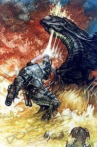 Wandtattoo Alien Vs Predator