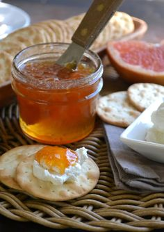Day #6 of All Citrus Week: Pink Grapefruit Habanero Jam - The View from Great Island