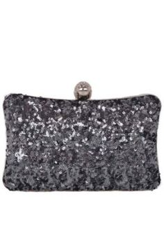 Amazon.com: GLITTER Silver Designer & Celebrity Style BLING SPARKLE Clutch w/ Crystal Knuckle BLING Hard Case Clutch Evening bag w/Swarovski Crystal & Embellished Knuckle Clasp closure by Jersey Bling: Clothing