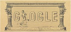 Google Doodle, April 6, 2016: 120th Anniversary of First Modern Olympic Games