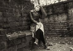 Fashion, Autumn, Styl, Girl, Modell, Poses