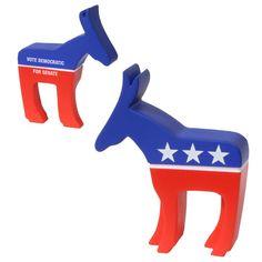 ***AMERICAN FLAG***STRESS BALL*** USA Democrat  Republican SQUEEZY novelty cool