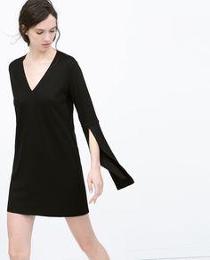 OPEN SLEEVE DRESS from Zara