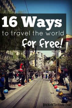 Whether it's flights, accommodation, transport, food or entertainment, there are ways to get it for free. You just need to know where to look.