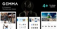Gemma is a multistore magento theme, suitable for selling tools for hair salon, shoes,...
