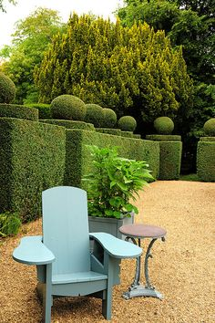 Haseley Court Oxfordshire; beautiful courtyard. Nancy Lancaster last home.  This is the paint color for all focal point garden accessories, front door, front gate etc.
