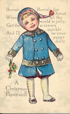 The Paper Collector: A Christmas Paper doll