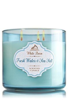 Bath & Body Works 3 Wick Candle 14.5 Oz White Barn Fresh Water & SEA Salt White Barn http://www.amazon.com/dp/B00TL8QFBK/ref=cm_sw_r_pi_dp_twy3wb00G4SR1