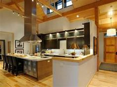 I love this kitchen. The island is amazing!