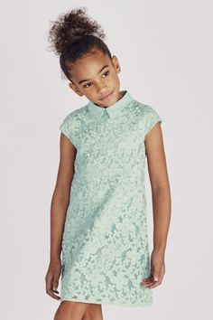 Buy Mint Lace Collar Shift Dress (3-16yrs) online today at Next: United States of America