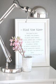 Encontrar tiempo...