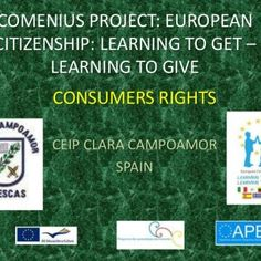 COMENIUS PROJECT: EUROPEAN CITIZENSHIP: LEARNING TO GET – LEARNING TO GIVE CONSUMERS RIGHTS CEIP CLARA CAMPOAMOR SPAIN   SUPERMARKET PRICES: • Our student. http://slidehot.com/resources/consumers-rights-supermarket-and-comercials-clara-campoamor.22888/