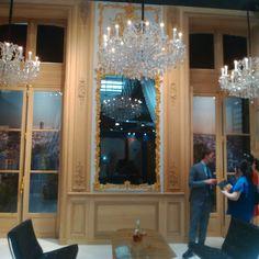 At Jean Baptiste CHAPUIS @maisonobjet @parisdesignweek stunning! Lovely to meet you ;-)