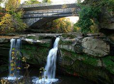 West Falls - Cascade Park- Elyria, Ohio