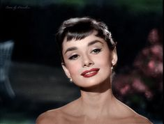 Audrey Hepburn by klimbims.deviantart.com on @deviantART