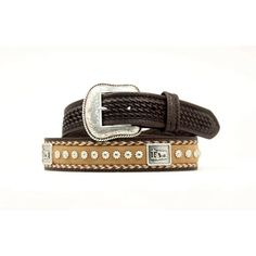 M & F Western Men's Praying Cowboy Concho Belt N2491602