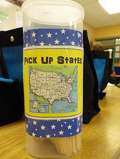 Pick Up  States. a fun game to learn the states and capitals.