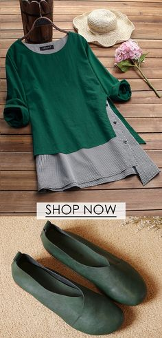 2019 Spring trends for women long sleeve T-shirt, plus size and colors you can options. Shop now! 2019 Spring trends for women long sleeve T-shirt, plus size and colors you can options. Shop now! Mode Outfits, Casual Outfits, Fashion Outfits, Spring Dresses, Spring Outfits, Diy Clothes, Clothes For Women, Moda Boho, Period Outfit
