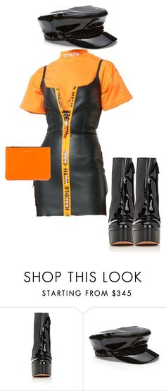 """""""frank ocean"""" by haisleigh ❤ liked on Polyvore featuring Marc Jacobs and Comme des Garçons"""