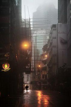 雨中香港 – Christophe Jacrot 攝影作品 | ㄇㄞˋ點子靈感創意誌
