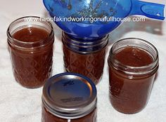 Two of a kind, working on a full house: Canning Apple Butter Recipe