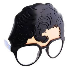 Superman Clark Kent Sunglasses - 344387 | trendyhalloween.com