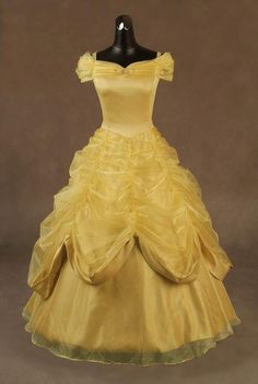It's a Belle dress!