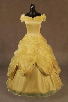 It's a Belle dress!