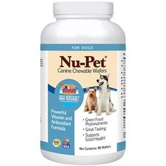 Ark Naturals NuPet Canine Chewable Wafers 90 Wafers ** Find out more about the great product at the affiliate link Amazon.com on image.