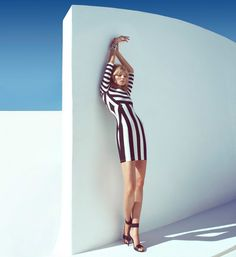 Magdalena Frackowiak in Springs Key Pieces for H