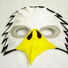 Children's BALD EAGLE Felt Mask