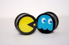 Pac Man Plugs by PlugClub by PlugClub on Etsy, $18.00