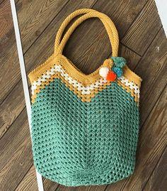 Koton İp ile Çanta Yapımı - Canım Anne